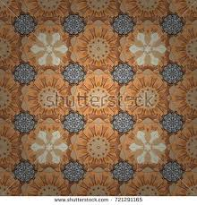 Elements Home Decor Abstract Background Consisting Islamic Patterns Stock Vector