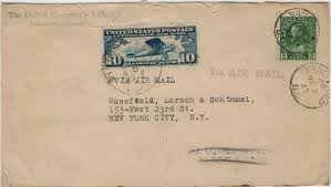 postal history corner 4 united states air mail letter rates