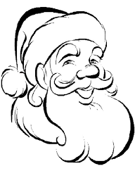 20 santa coloring pages ideas printable