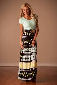 the ellyson maxi dress in mint aztec maxi dresses and churches