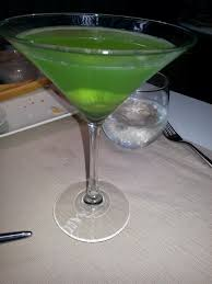 martini green after a long week fraught with drama ode to a kiwi apple martini