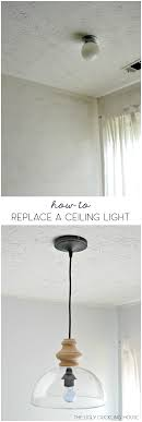 Replacing A Ceiling Light Fixture How To Replace Overhead Light Fixtures With Ease