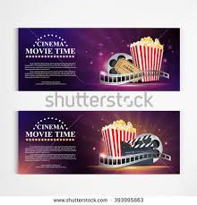 cinema movie poster template modern pattern stock vector 334131290