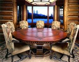 round dining room tables seats 8 round dining room table seats 8 lesdonheures com