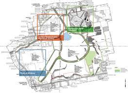 pratt map rentschler field masterplan