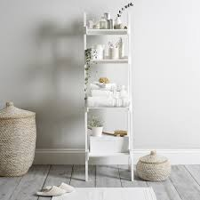 bathroom ladder shelf the white company おしゃれなラダーの