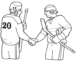 hockey coloring sheets printable sport hockey coloring pages