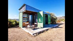 a small prefabricated summer house in halkidiki greece tiny