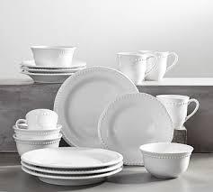 monogrammed dishes beautiful monogram dinnerware pottery barn