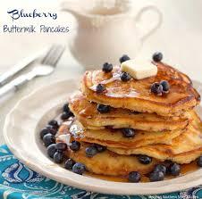 Blueberry Pancake Recipe Blueberry Buttermilk Pancakes Melissassouthernstylekitchen Com