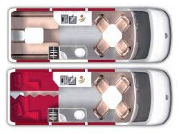 Conversion Van Floor Plans 70 Best Van Con Flr Plan Images On Pinterest Camper Van