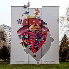 Mural Collaboration by Lonac And Artez Reveal Their Collaboration In Banja Luka Bosnia