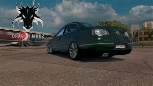 mod car game euro truck simulator 2 volkswagen passat b6 v0 1 beta car euro truck simulator 2 mods