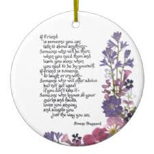 poem ornaments keepsake ornaments zazzle