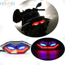 ninja 300 integrated tail light 2018 for kawasaki ninja300 250 250r z250 motorcycle led turn signals