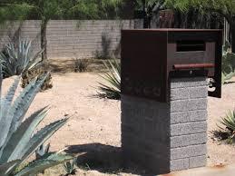 Bronze Wall Mount Mailbox Creative Decorative Residential Mailboxes U2014 Home Design