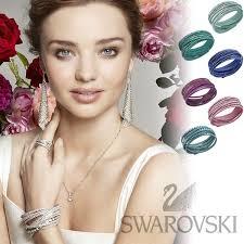 swarovski crystal leather bracelet images Rosso bianco rakuten global market same day delivery jpg