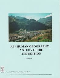 ap human geography a study guide 2nd edition ethel wood