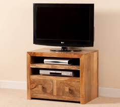 Bedroom Tv Unit Furniture Tv Stands Furniture Small White Stained Wood Corner Tv Stand And