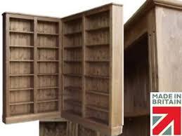 solid pine corner bookcase 6ft 8