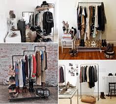 diy storage ideas for clothes clothing storage wardrobe alternatives furnish burnish home