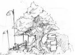 bg sketch tree 1 by ben ben on deviantart