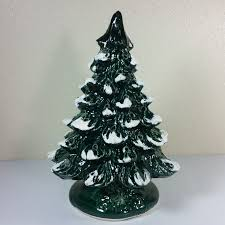 ceramic christmas tree vintage ceramic christmas tree base 14 x 9 inches laughing