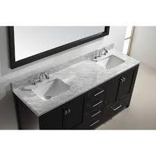 73 Inch Vanity Top Double Sink Vanity Top Sinks And Faucets Gallery