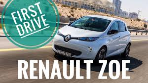 renault zoe electric renault zoe first drive electric dreams youtube