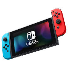 Meijer Home Decor Nintendo Switch With Neon Blue And Neon Red Joy Con Meijer Com