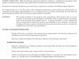 Property Manager Job Description For Resume by Strikingly Design Leasing Agent Resume 7 Amusing Apartment Leasing