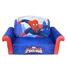 kids sofa couch spiderman sofa couch children furniture child kid 2 in 1 flip open