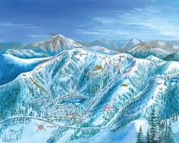 Breckenridge Ski Map Ski Trail Maps And Historic Posters Ski Trail Map Artist Kevin Mastin