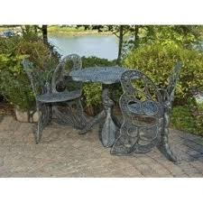 Wrought Iron Patio Furniture Sets Foter - Antique patio furniture