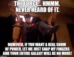 Meme Generator Star Trek - star trek q meme generator imgflip