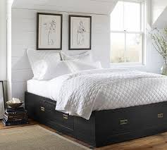 reynolds storage platform bed pottery barn