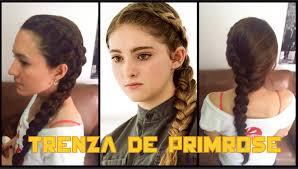 hambre hairstyles trenza de primrose the hunger games lala youtube