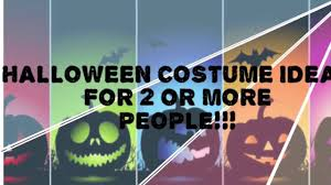 halloween costume ideas for 2 people youtube