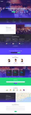 event planner event planner responsive landing page template 58491