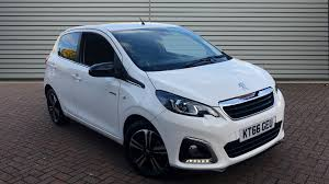 Used Peugeot 108 Cars For Sale Motors Co Uk