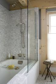 fancy bathroom with shower over bath on home design ideas with