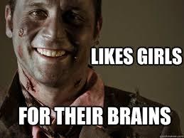 Funny Zombie Memes - gentleman zombie memes quickmeme