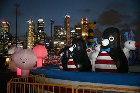 National Zoo Lights by Bounce Off Giant Inflatable Animals At Art Zoo Todayonline