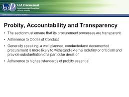 lgap u0027s initiatives to support procurement in local government