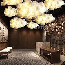 luminaire chambre d enfant injuicy luminaires moderne e27 led edison nuage le suspensions
