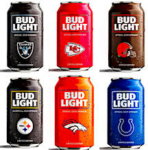 where can i buy bud light nfl cans nysportsjournalism com beer top of mind with nfl mlb nascar fans