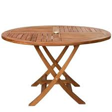 folding patio table with umbrella hole outdoor dining sets with umbrella hole round folding table fold away