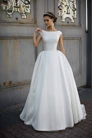 real sample wedding dresses cap sleeve satin white ivory backless