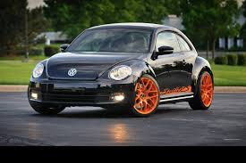 porsche wheels on vw meet the first modified 2012 volkswagen beetle inspired by the