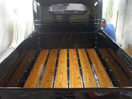 wooden truck bed exotic wood for truck bed any photos page 3 the h a m b